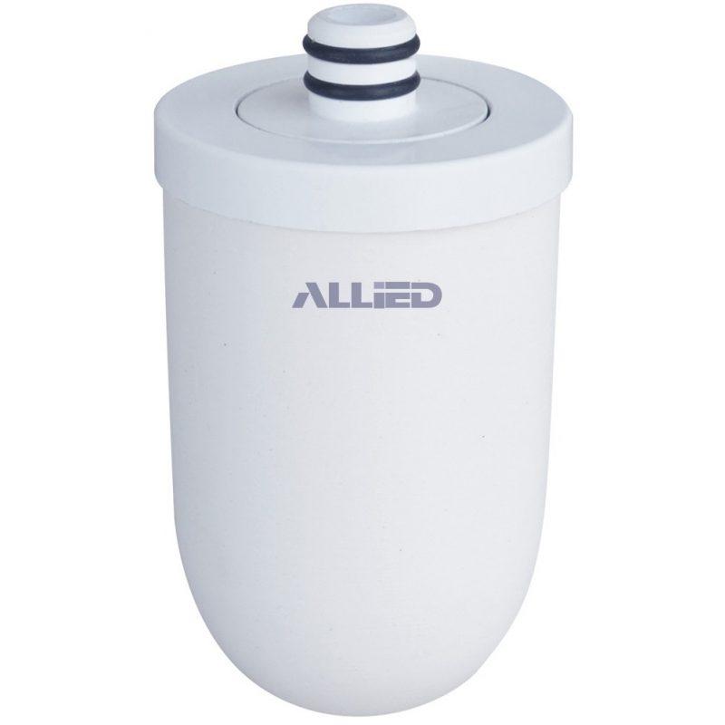 Filtro Purificador De Agua Allied AL-RF2 Ceramica y Carbon Activo Para Canilla 1