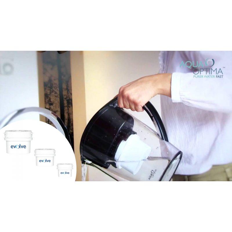 Filtros Aqua Optima Evolve Pack de 3 Unidades x30 Días Repuesto 4