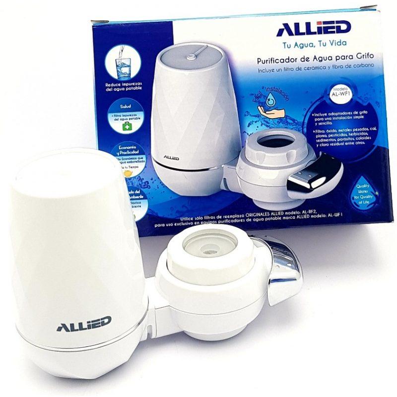 Purificador de Agua para Grifo / Canilla Aqua Optima con Doble Filtro 2