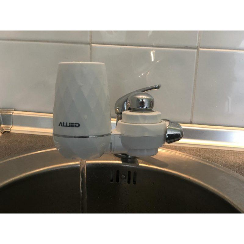 Purificador de Agua para Grifo / Canilla Aqua Optima con Doble Filtro 3