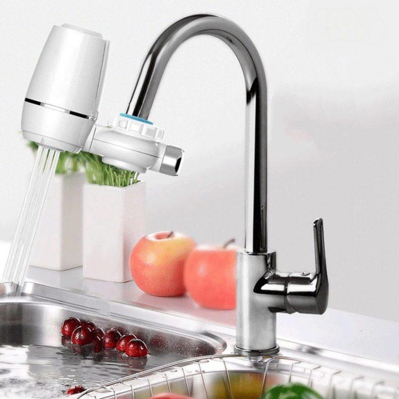 Purificador de Agua para Grifo / Canilla Aqua Optima con Doble Filtro 4