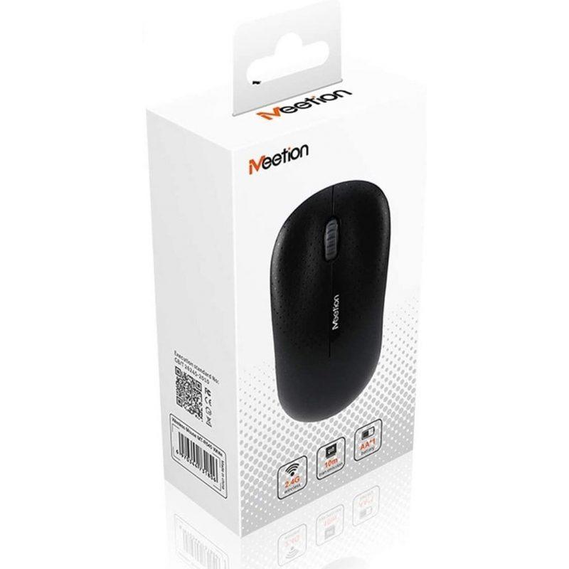 Mouse Optico Inalambrico Meetion MT-R545 Negro 3