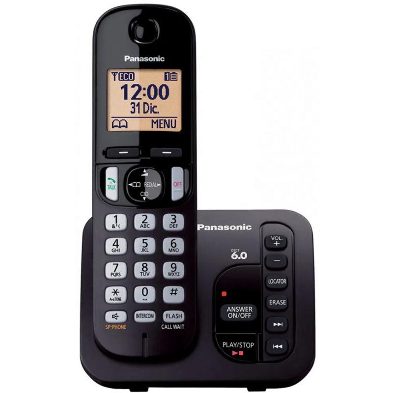 Telefono Inalambrico Panasonic KX-TGC220 con Contestador e Identificador de llamadas 1
