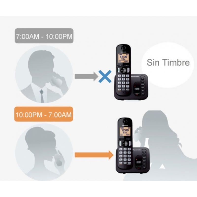 Telefono Inalambrico Panasonic KX-TGC220 con Contestador e Identificador de llamadas 4