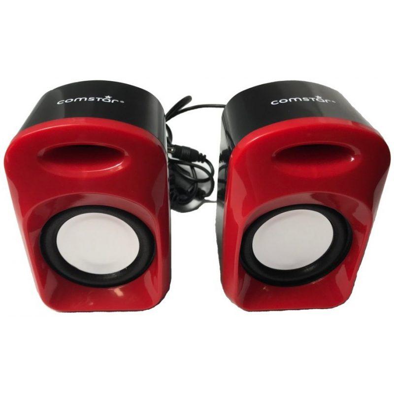 Parlante Comstar Sp22 USB Rojo 1