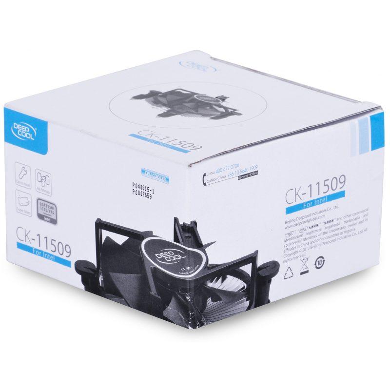 Cooler DEEPCOOL CK-11509 Para Intel Socket LGA 775 1150 1155 4