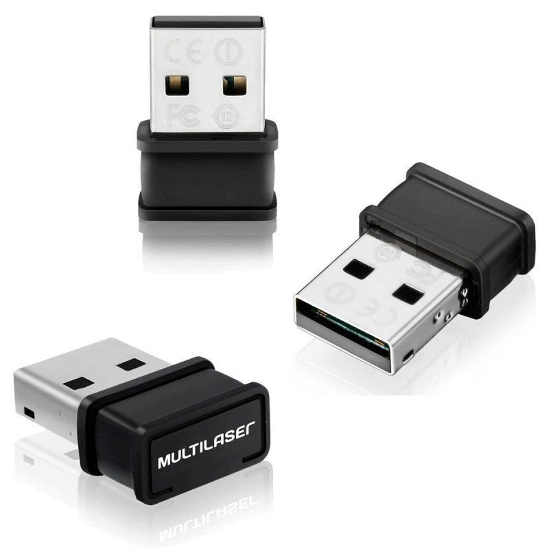 Tarjeta de Red USB WiFi Multilaser RE035 150Mbps 4