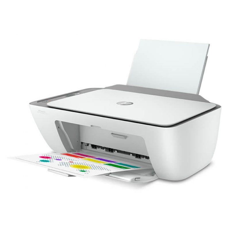 Impresora Multifuncion HP Deskjet 2775 Wifi + Cartuchos 2