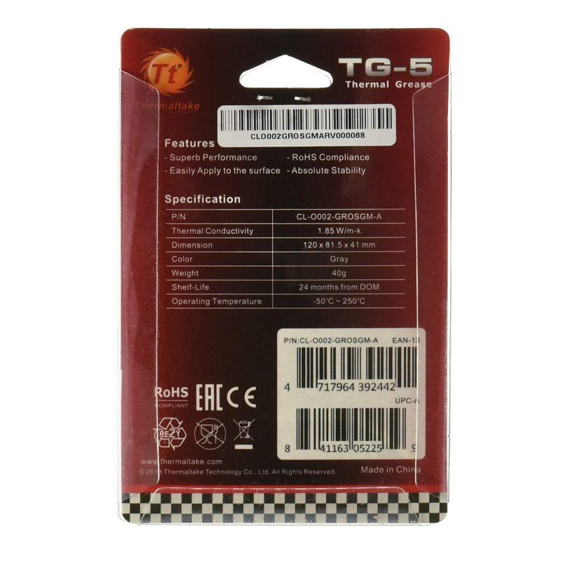 Grasa Pasta Termica Thermaltake TG-5 40gr de Alta Performance 3