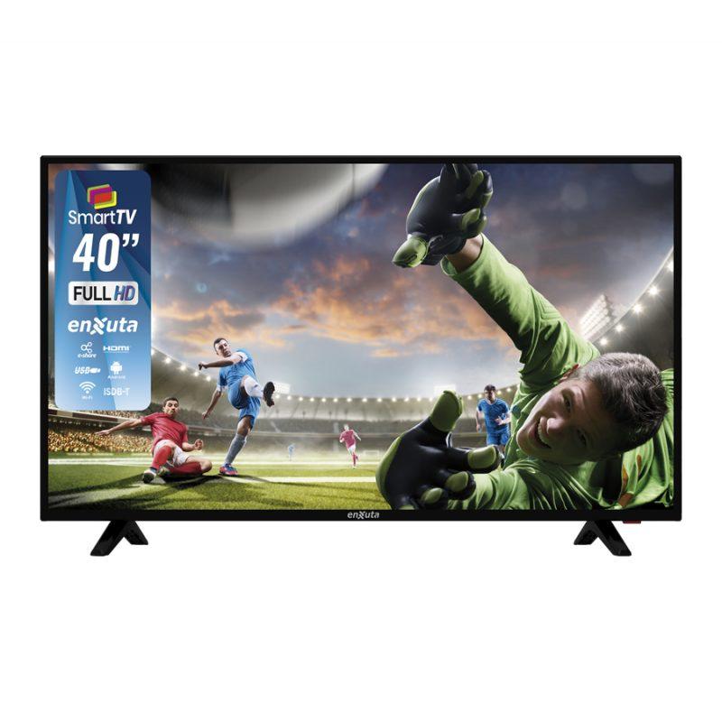Smart TV LED Enxuta LEDENX40S2K 40'' Full HD WiFi Netflix Youtube Apps Android 3