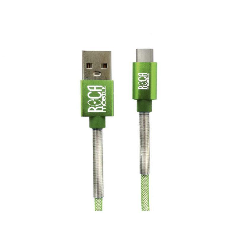 Cable de Datos ROCA Tipo C Premium Forrado - 2 Metros 1