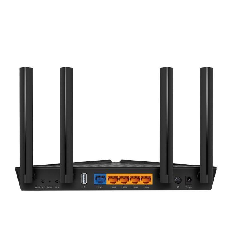Router TP-Link WiFi 6 AX20 Gigabit Quad Core AX1800 Doble Banda Nueva Version WiFi 6 3