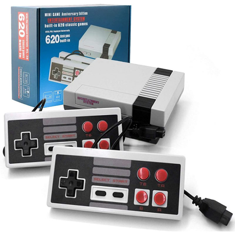 Consola de Juegos Retro Family Game con 2 Joystick y 620 Juegos incorporados 1