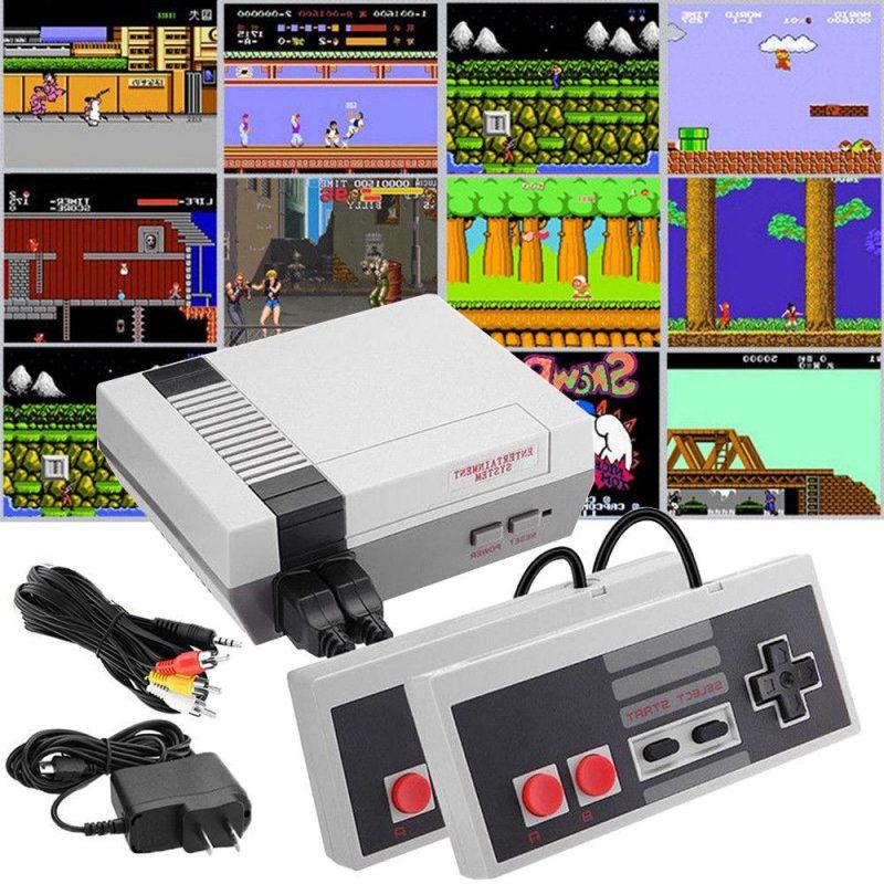 Consola de Juegos Retro Family Game con 2 Joystick y 620 Juegos incorporados 3