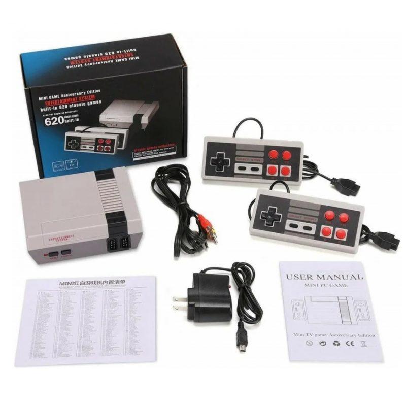 Consola de Juegos Retro Family Game con 2 Joystick y 620 Juegos incorporados 4