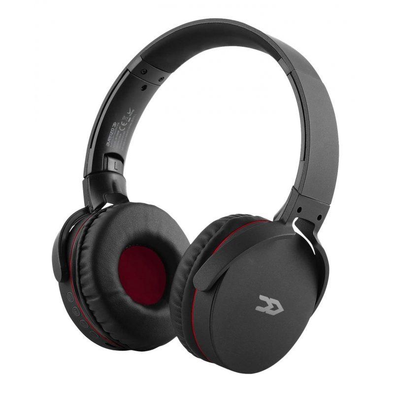 Auricular Bluetooth y Cableado Avenzo AV-HP2002B con Radio FM/MP3/MicroSD y Manos Libres - Negro 1