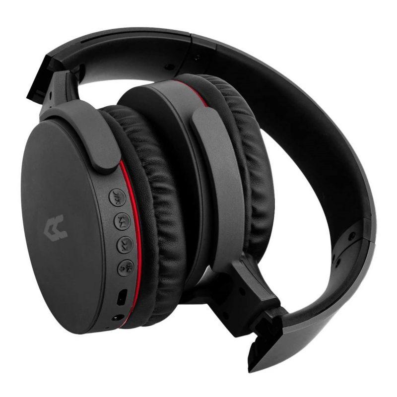 Auricular Bluetooth y Cableado Avenzo AV-HP2002B con Radio FM/MP3/MicroSD y Manos Libres - Negro 3