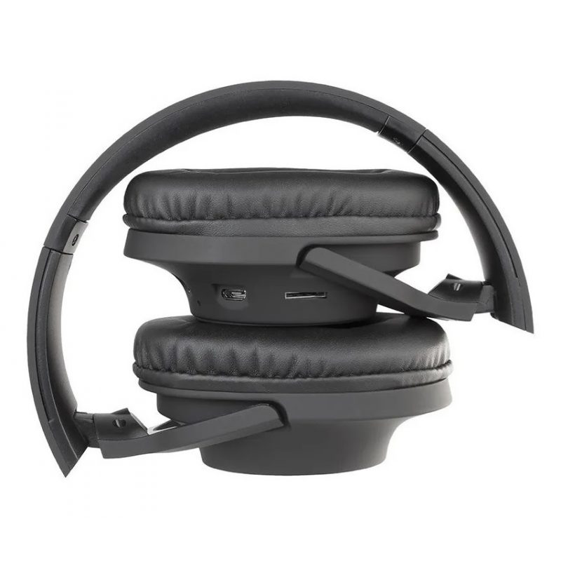 Auricular Diadema Bluetooth Avenzo AV626NG Comodos con MP3 MicroSD y Manos Libres - Negro 2