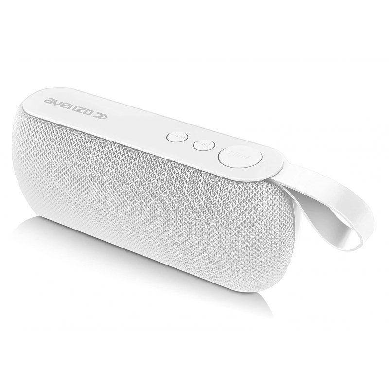 Parlante Portatil Avenzo AV-SP3101W 3W Bluetooth Manos Libres Radio FM microSD USB MP3 - Blanco 1