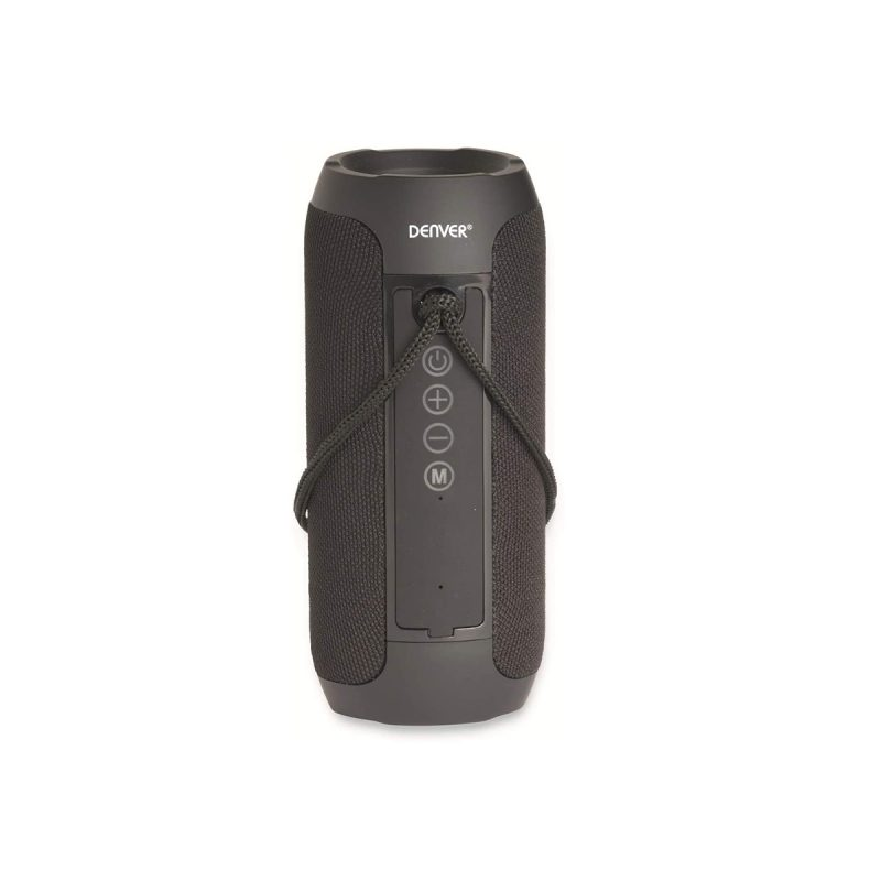 Parlante Portatil Denver BTS-110 Bluetooth Manos Libres Radio FM microSD USB MP3 - Negro 2