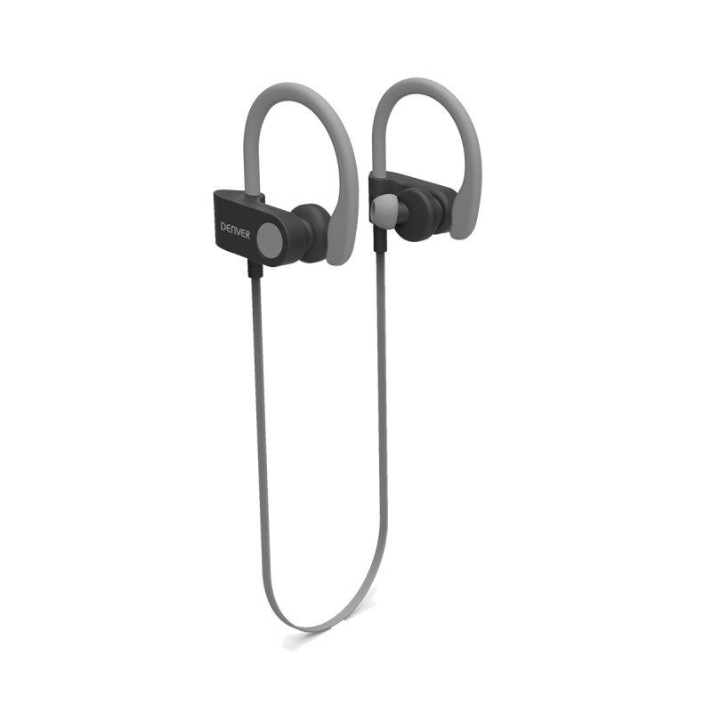Auriculares In-Ear Denver BTE-110 Deportivos Bluetooth Manos Libres - Gris 1