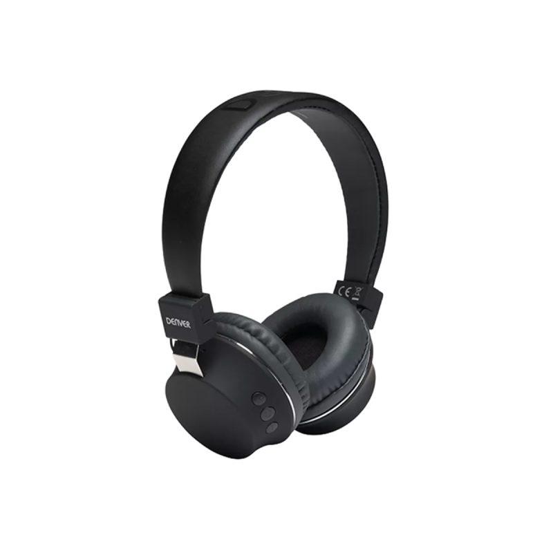 Auriculares Denver BTH-205 Bluetooth Manos Libres Con Micrófono - Negro 1