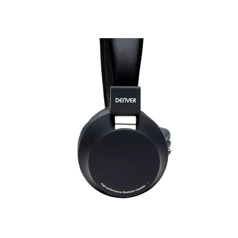Auriculares Denver BTH-205 Bluetooth Manos Libres Con Micrófono - Negro 2