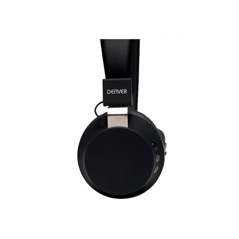 Auriculares Denver BTH-205 Bluetooth Manos Libres Con Micrófono - Negro 3