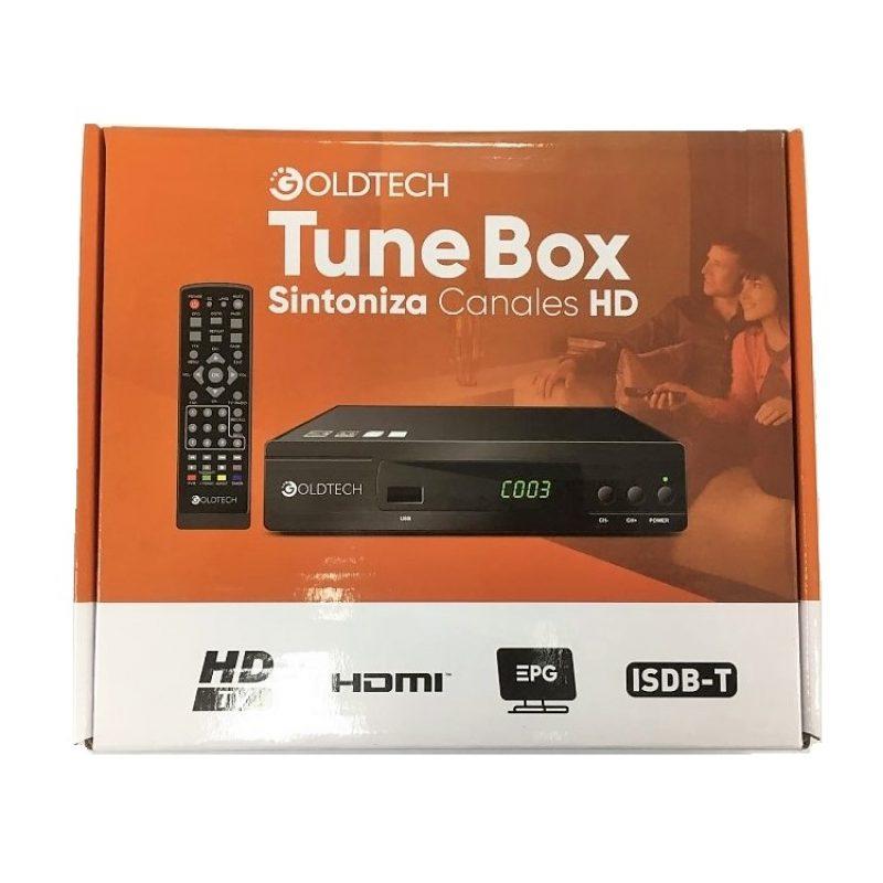 Sintonizador Digital Goldtech ISDB-T para Canales de Aire Full HD en TV's HDMI / RCA 2
