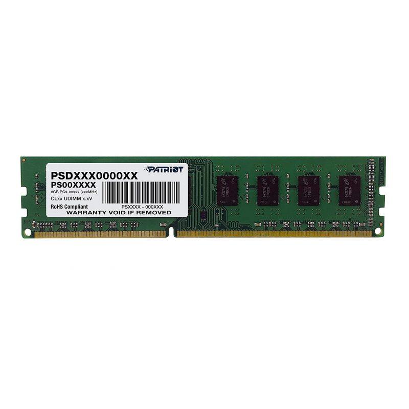 Memoria RAM DDR3 8GB 1600 MHz Patriot PSD38G16002 Nueva 1