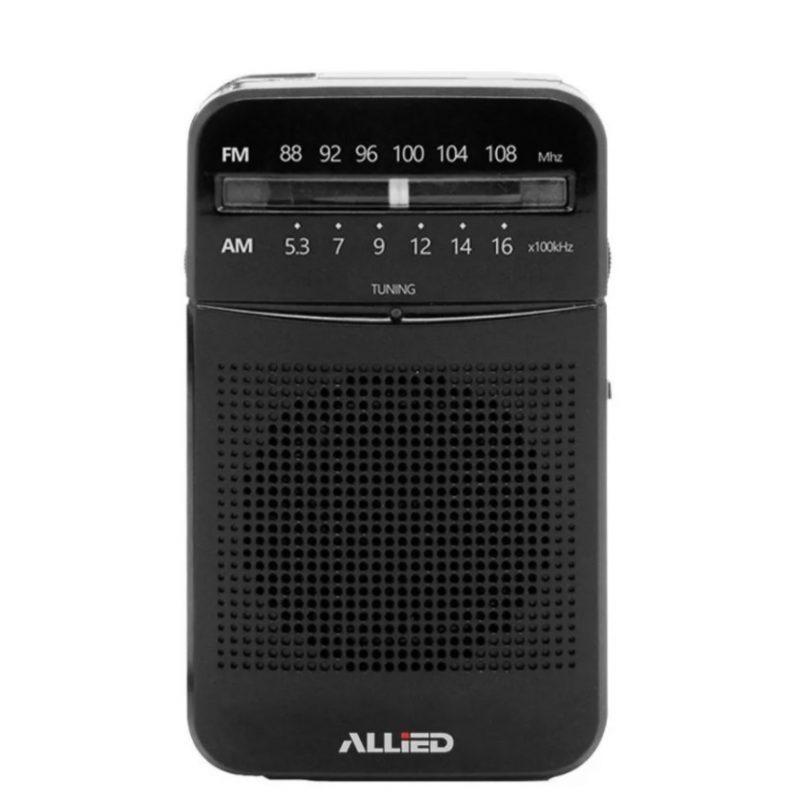 Radio Portátil Portable Clásica Allied AL-RA32 FM/AM de Bolsillo a Pilas 1