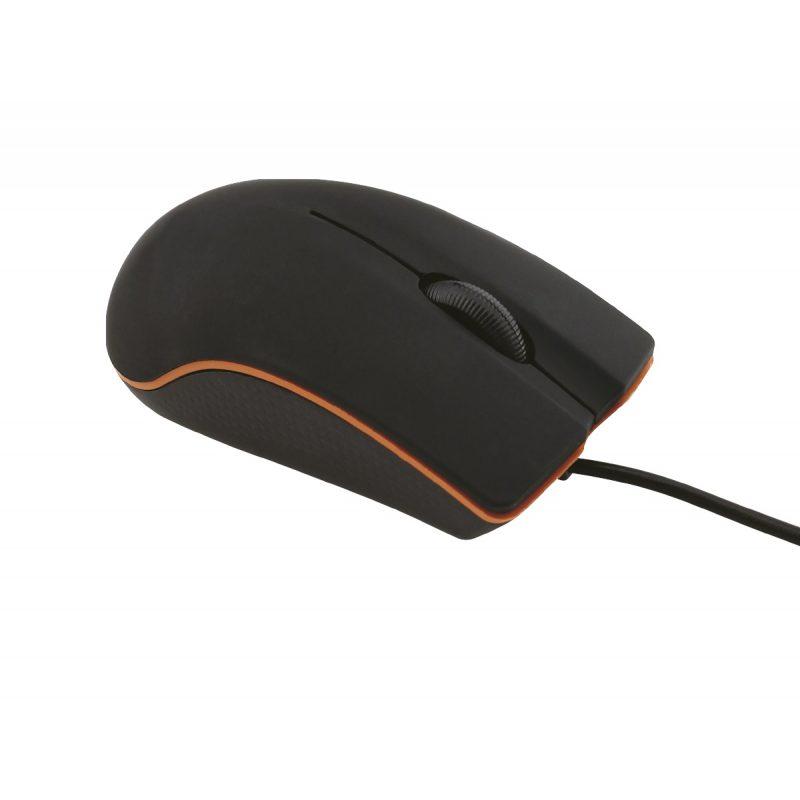 Mouse Optico USB Oditox OTX001 Cableado para PC Notebooks y Mas 1
