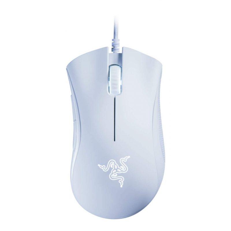 Mouse Gamer Razer DeathAdder Essential Ergonomico 5 Botones programables - Blanco 1