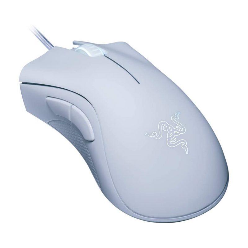 Mouse Gamer Razer DeathAdder Essential Ergonomico 5 Botones programables - Blanco 2