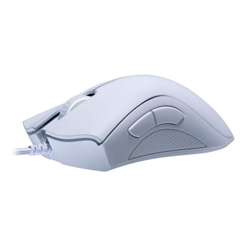 Mouse Gamer Razer DeathAdder Essential Ergonomico 5 Botones programables - Blanco 3