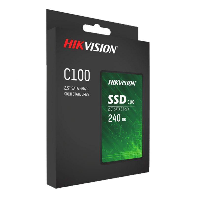 Disco Solido SSD Hikvision HS-SSD-C100/240G 240GB SATA3 2.5' 3