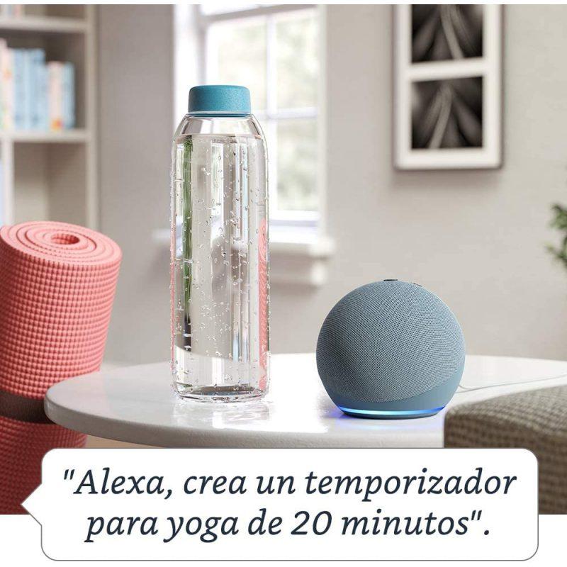 Parlante Inteligente Smart Amazon Echo Dot (4TH Gen) con Alexa - Charcoal 4