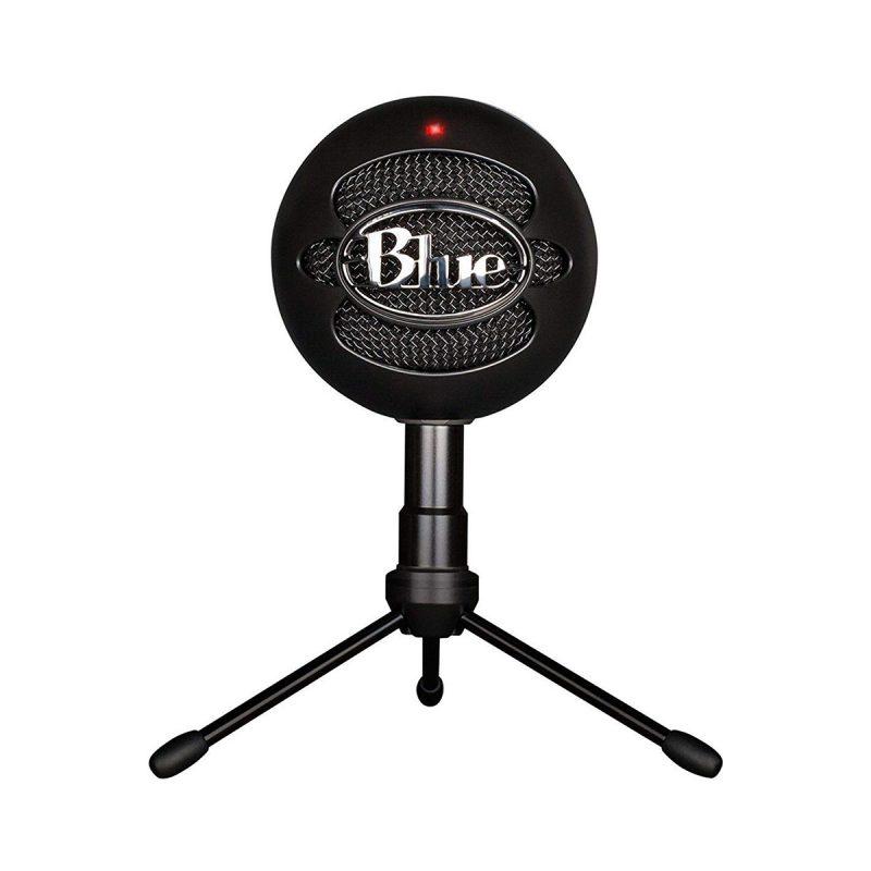 Micrófono Blue Snowball Profesional Ideal Para Streamer USB - Negro 1
