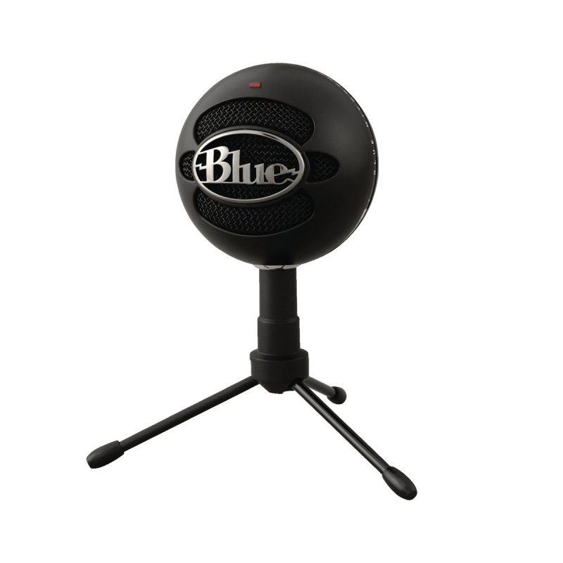 Micrófono Blue Snowball Profesional Ideal Para Streamer USB - Negro 2