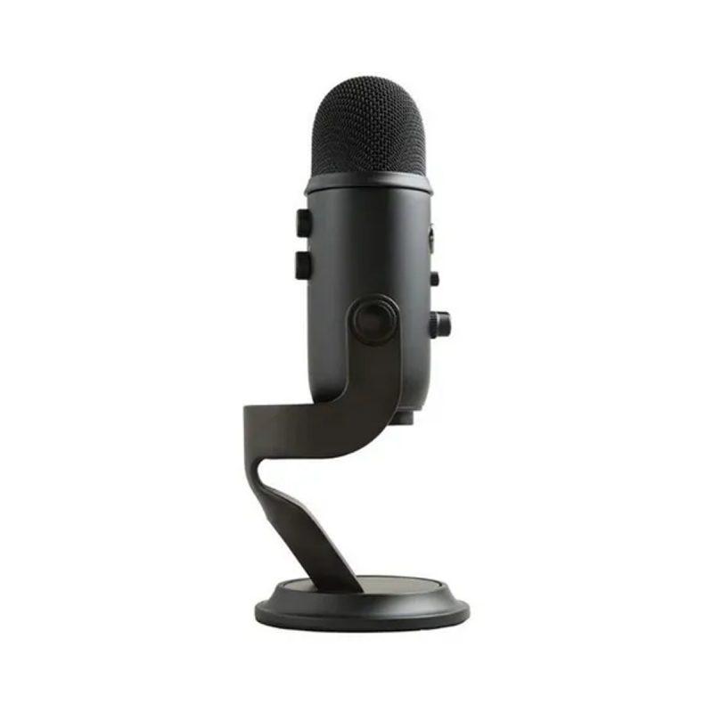 Micrófono Blue Yeti Estéreo Omnidireccional Profesional Ideal Para Streamer USB Compatible Con PC - Negro 2