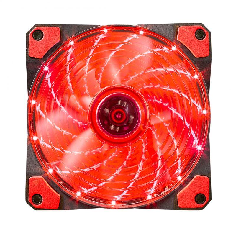Fan Cooler Ventilador LED Marvo Scorpion FN-10 12cm. - Color Rojo 3