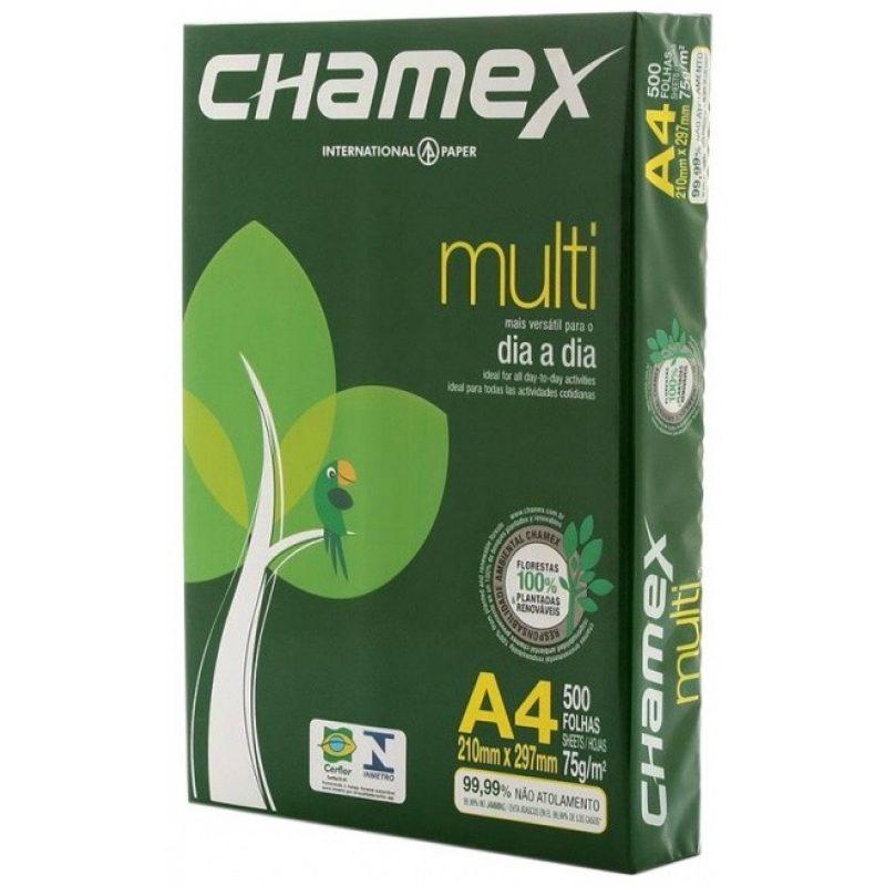 Papel Chamex A4 75g Resma x500 Hojas 2