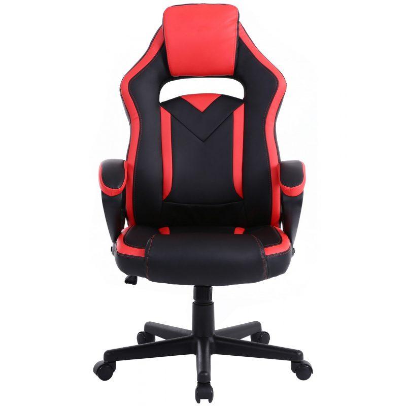 Silla Gamer Gaming Racing Pro AF-C5481 Muy Comoda; Grande; Ergonomica De Calidad - Roja 2