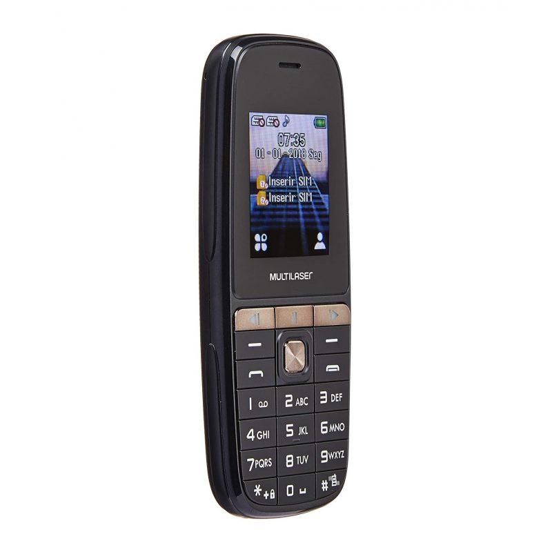 Celular Multilaser UP Play 1.8'' Basico Dual Sim Radio FM Cámara Nuevo y Libre - Negro 2