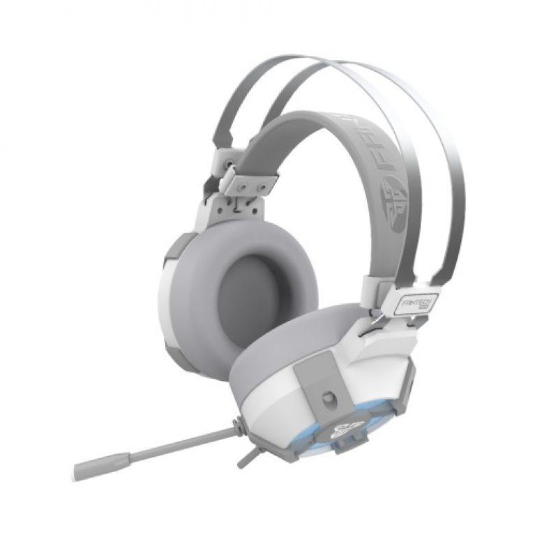 Auricular Gamer Fantech Sakura HG11 Virtual 7.1 Surround Led RGB - Space Edition (Blanco) 2