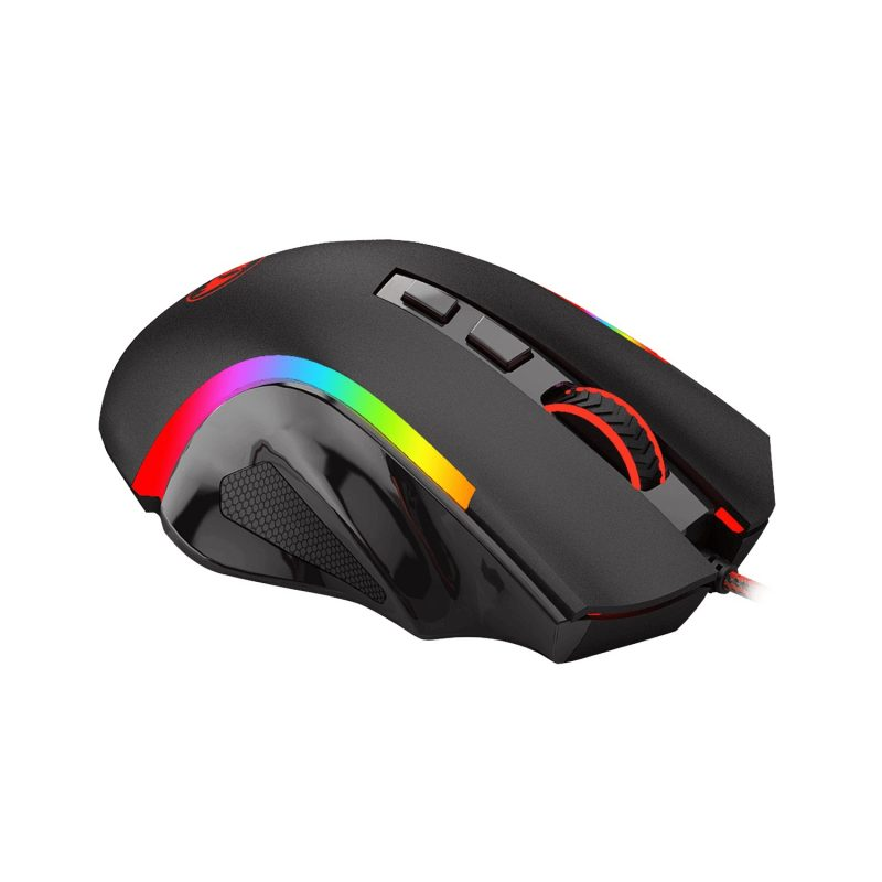 Mouse Gamer Profesional Redragon Griffin RGB 8 Botones Switch Omron 4