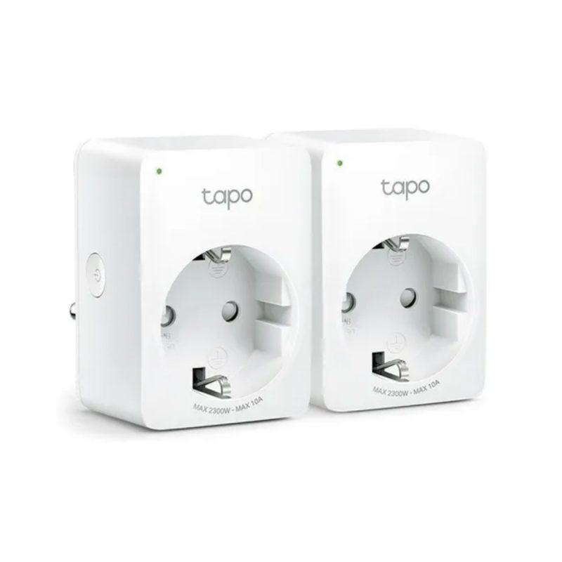 Enchufe Inteligente Smart Wifi TP-Link Tapo P100 Controla los Dispositivos por Voz y App y Ahorra energía - Kit x2 Unidades 1