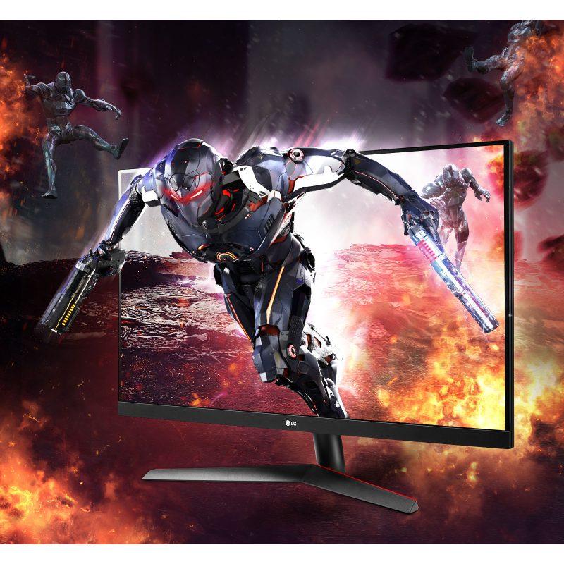 Monitor LED LG 32GN600-B 31.5'' QHD Gamer FreeSync Premium 165Hz Ultra delgado 1ms MBR 2
