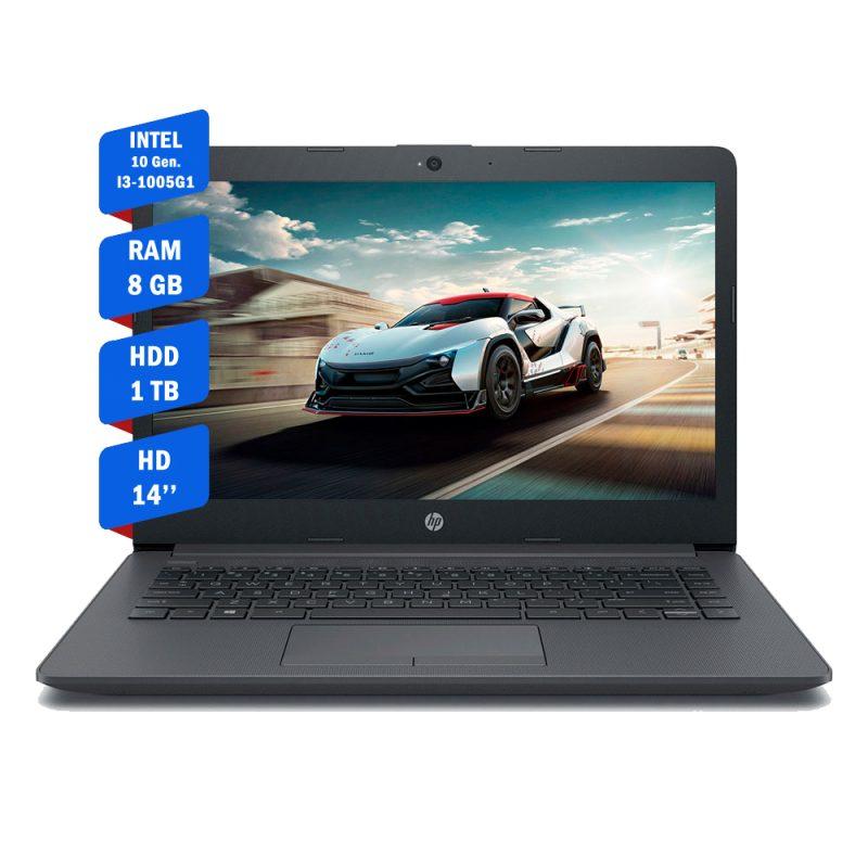 Notebook HP 240 G7 i3-1005G1 (Décima Generación) 8GB 1TB 14'' Español Nueva Garantía Oficial Windows 10 1
