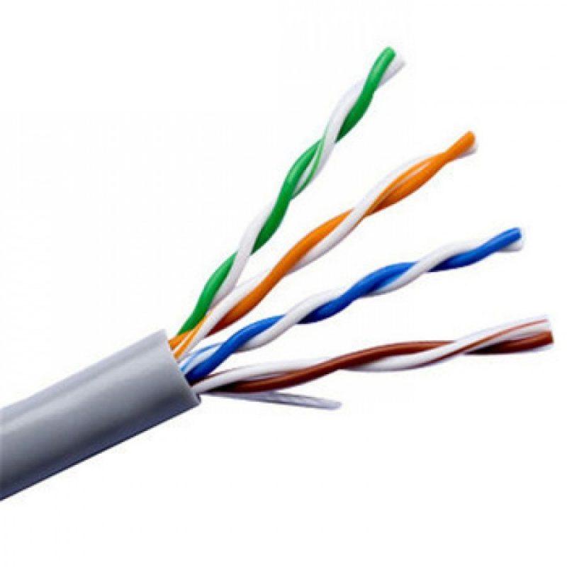 Bobina Cable de Red UTP X-Tech XTC-220 de 305 Metros Interior CAT5E - Gris 2